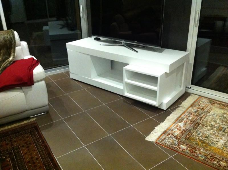 Cr ation de mobilier sifferlin menuiserie pro positive - Meuble tv rotatif ...