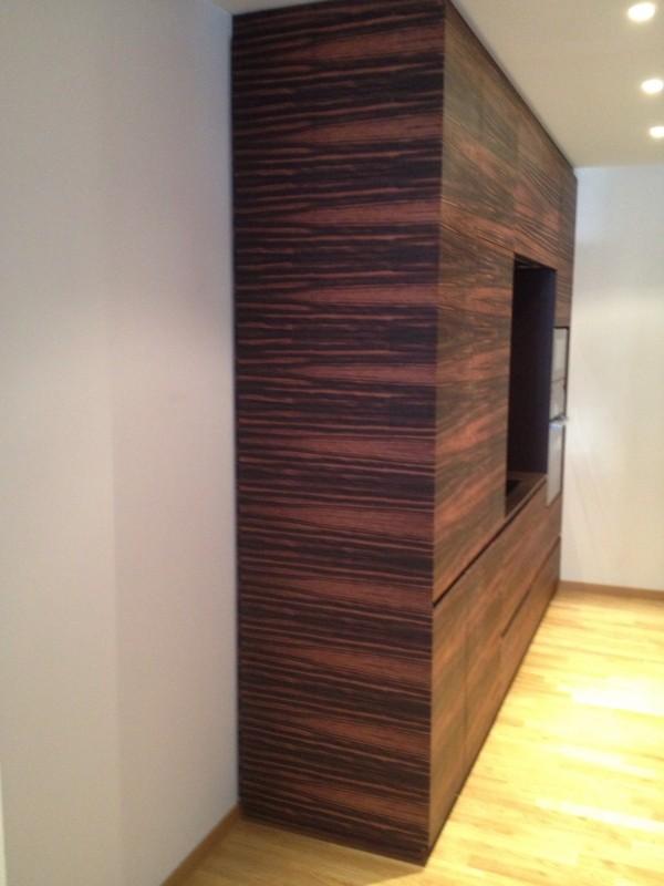 une cuisine sifferlin sur mesure en palissandre sifferlin menuiserie pro positive. Black Bedroom Furniture Sets. Home Design Ideas