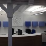 Ruhlmann - desk d'accueil et boîtes de rangement