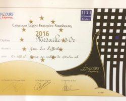 Médaille d'Or pour la cuisine ultra-compacte au Concours Lépine de Strasbourg 2016 !