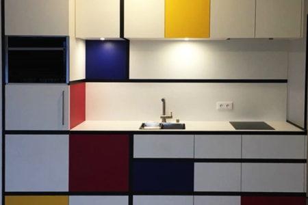 La cuisine selon Mondrian