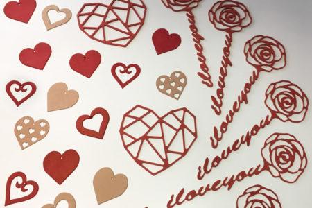 Offrir une rose ou un coeur…chaque jour !