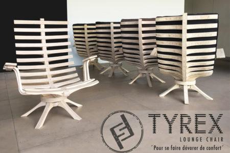 Lounge chair TYREX : pour se faire dévorer de confort…